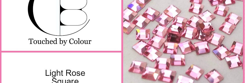 Square - Light Rose - Specialty Shape