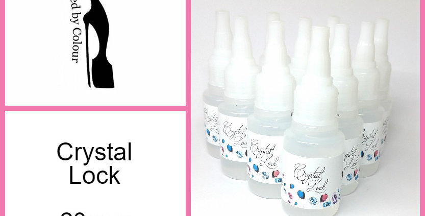 Crystal Lock Glue