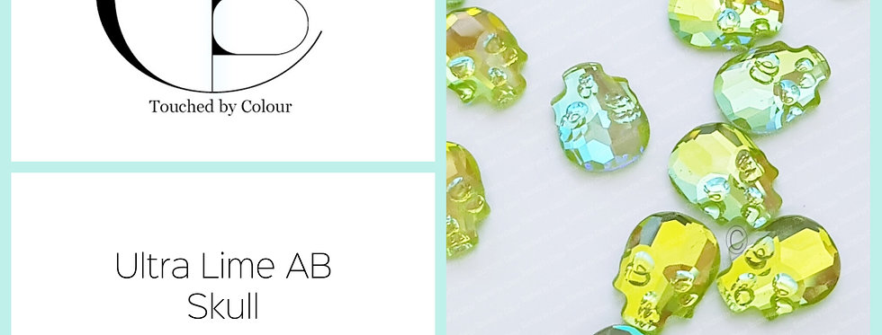 Skull  - Ultra Lime AB - Specialty Shape