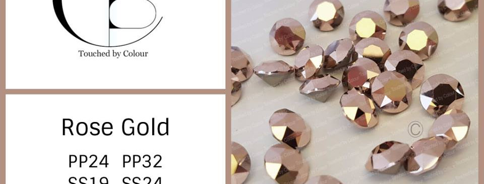 Rose Gold Chatons