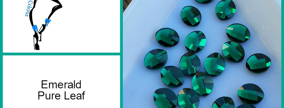Pure Leaf - Emerald- Specialty Shape