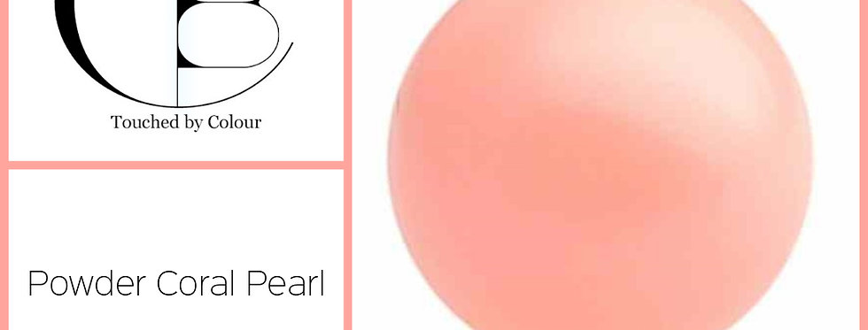 Pink Coral Pearl - Flat Back