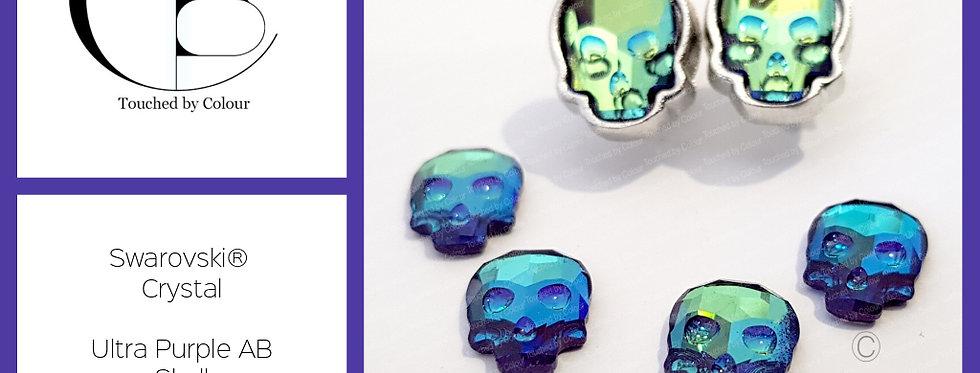 Swarovski® Crystal Skull Earrings
