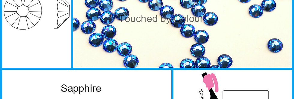 Sapphire - Flat Back
