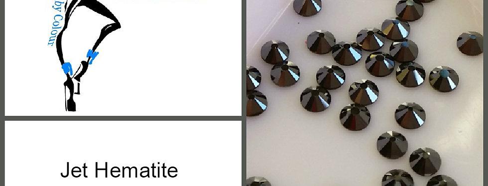 Jet Hematite - Flat Back