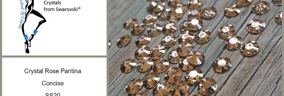 Rose Gold Pantina Concise - Flat Back