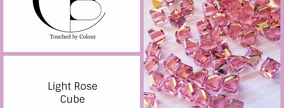 Cube - Light Rose - Fancy Shape