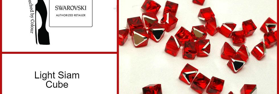 Cube - Light Siam - Fancy Shape