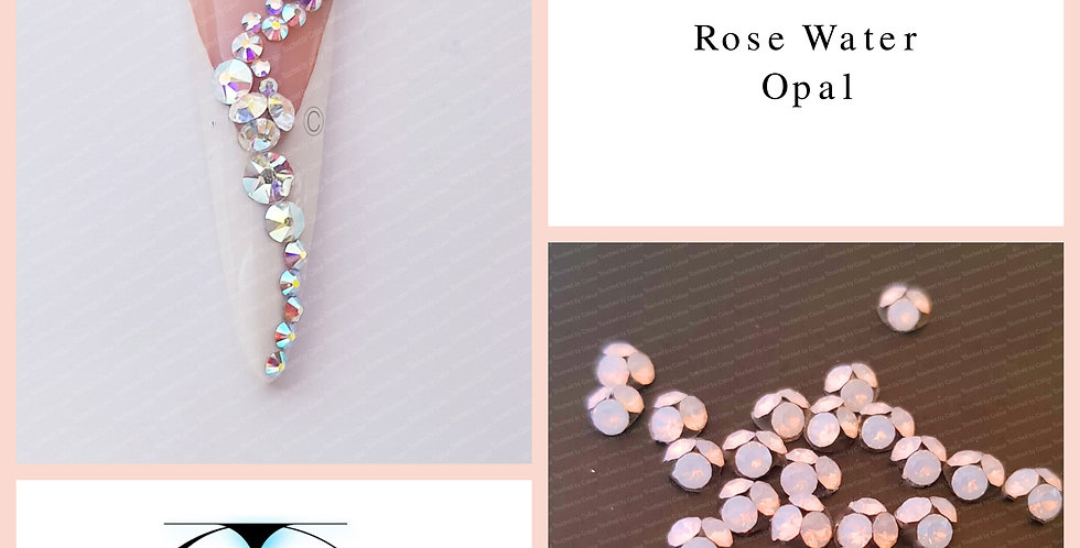 Pixie Clusters - Rose Water Opal