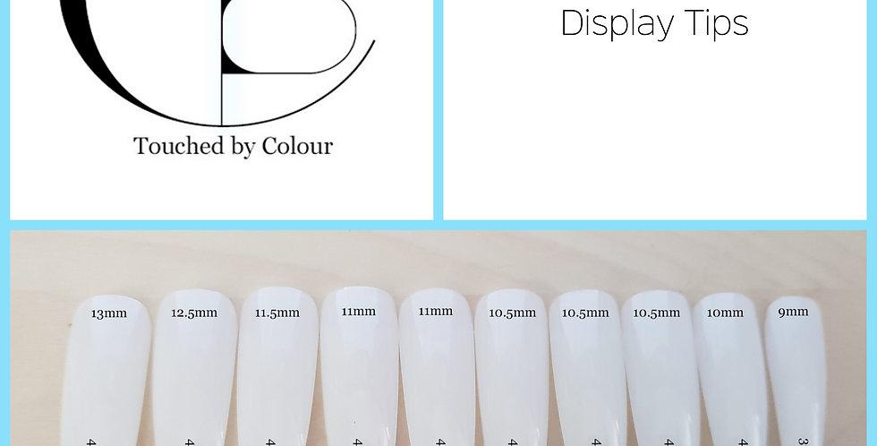 Nail Art Display Tips