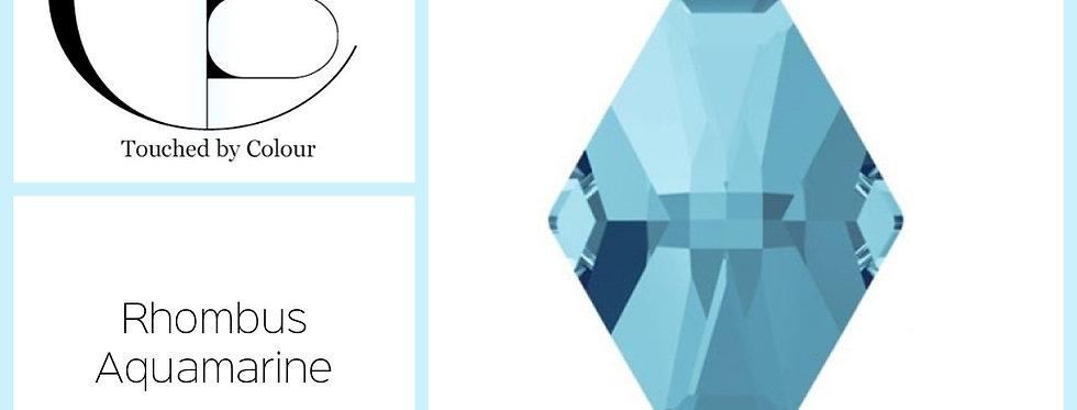 Rhombus - Aquamarine - Specialty Shape