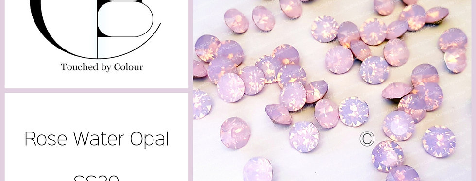 Rose Water Opal - Flat Back