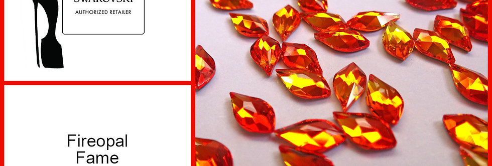 Flame - Fire Opal - Specialty Shape