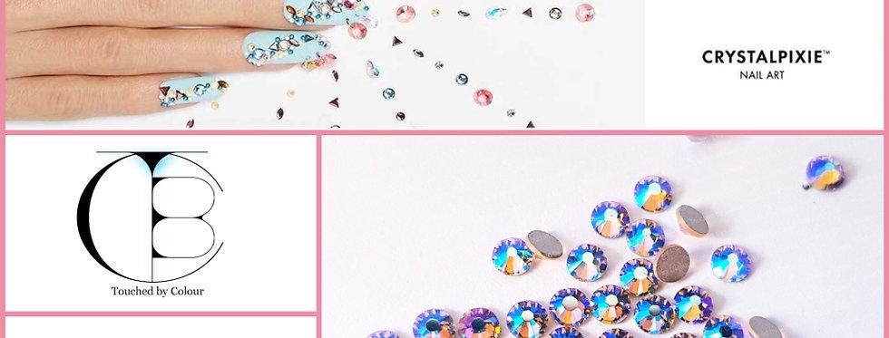 Vintage Rose Shimmer Tiny Treasures - Flat Back