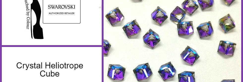 Cube - Heliptrope - Fancy Shape