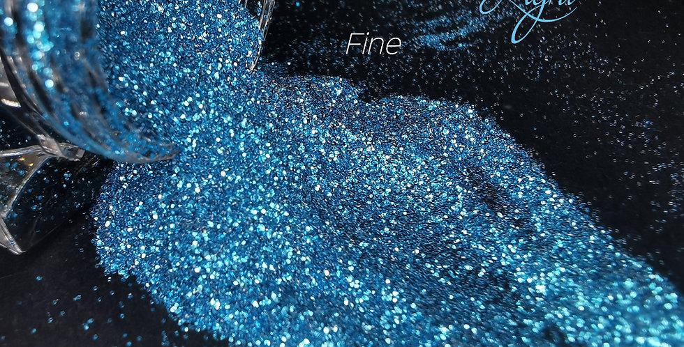 Aquamarine Light Glitter - Fine