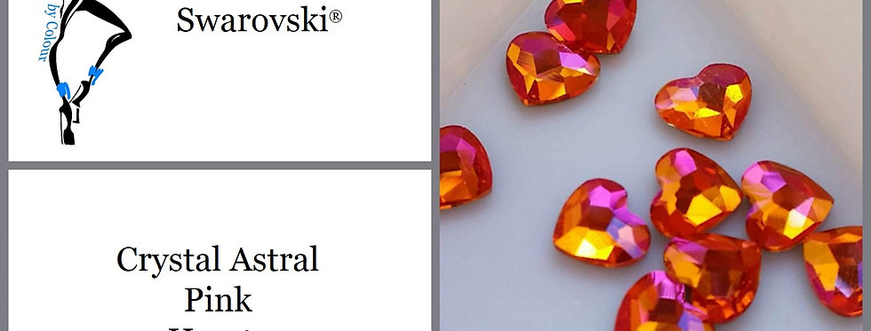 Heart - Astral Pink - Specialty Shape