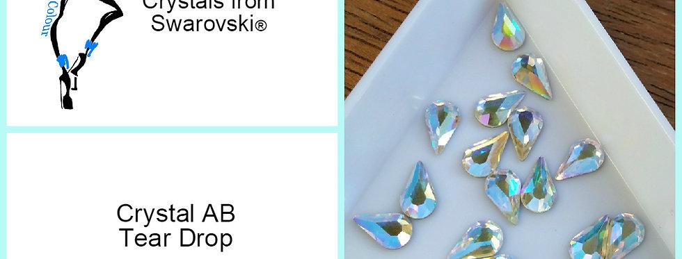 Tear Drop - Crystal AB - Specialty Shape