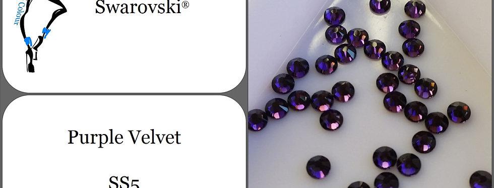 Purple Velvet - Flat Back