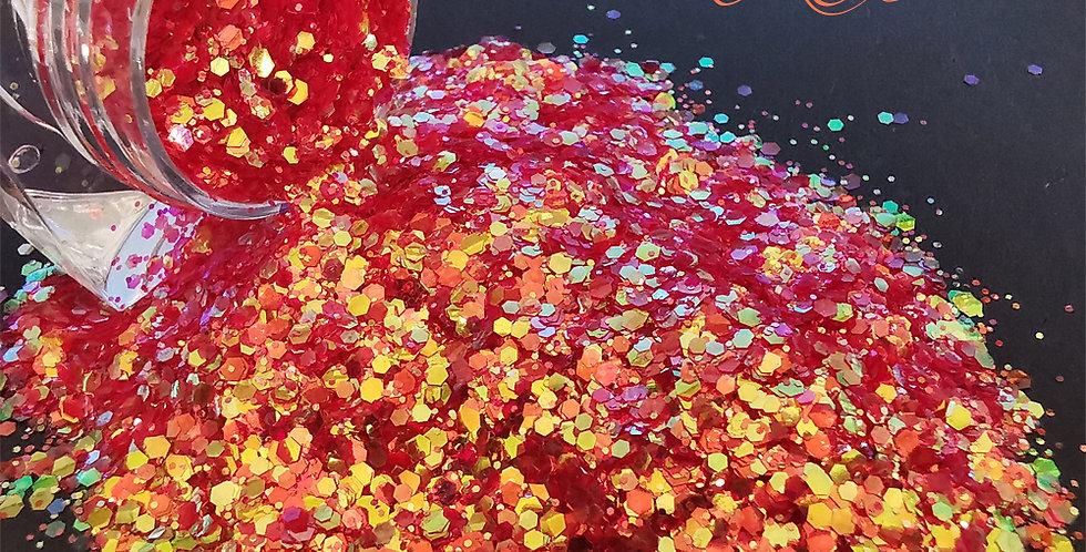 Tangerine AB Glitter - Mixed