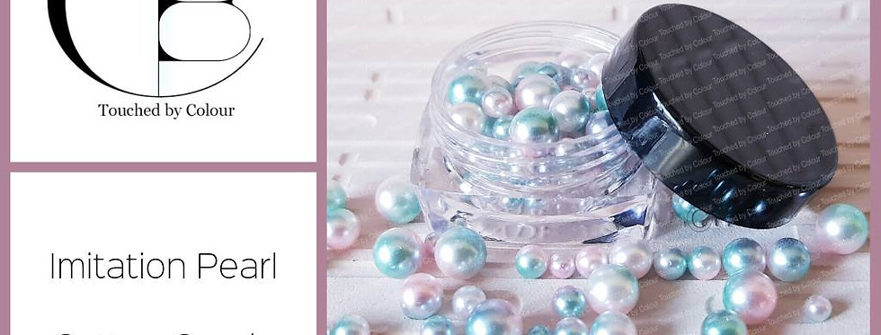 Cotton Candy - Imitation Pearl