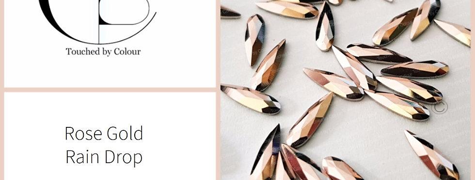 Rain Drop - Rose Gold- Specialty Shape