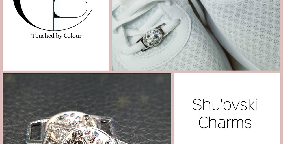 Shu'ovski Charms - Gold AB Flower