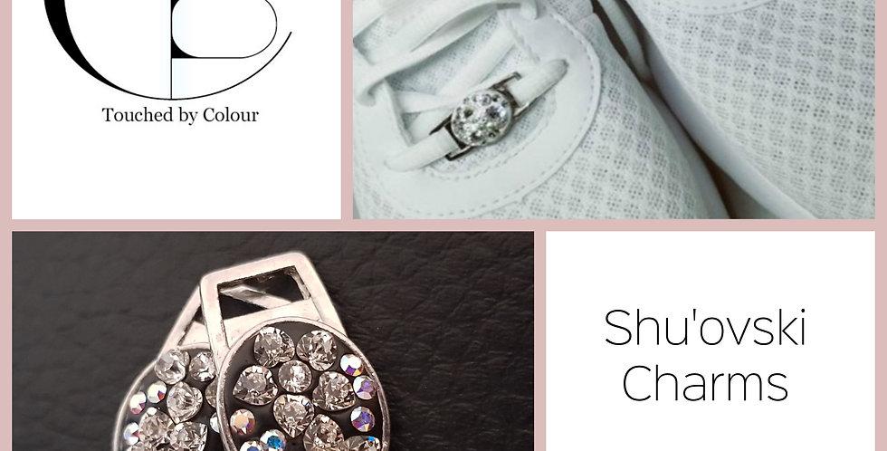 Shu'ovski Charms - Crystal AB Heart