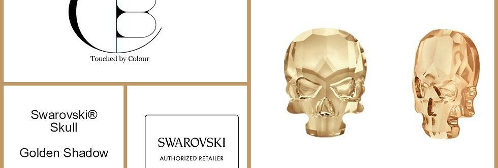 Skull - Crystal Golden Shadow- Specialty Shape