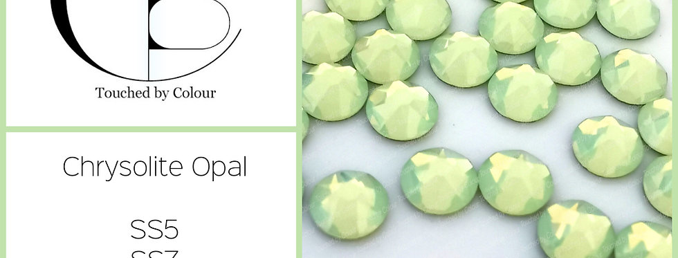 Chrysolite Opal - Flat Back