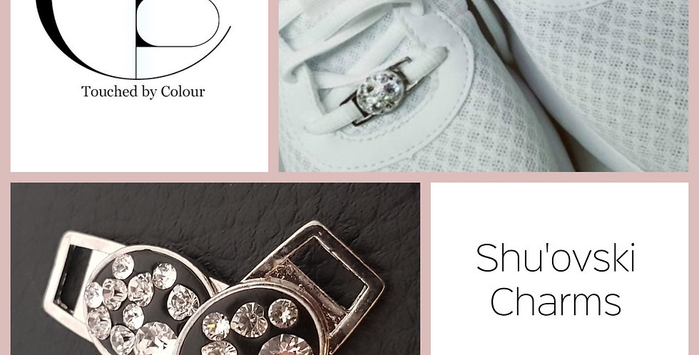 Shu'ovski Charms - Crystal Hear Mosaic