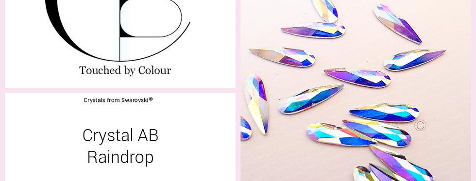 Rain Drop - Crystal AB - Specialty Shape