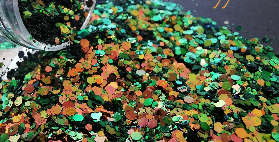Rustic Copper Glitter - Mixed