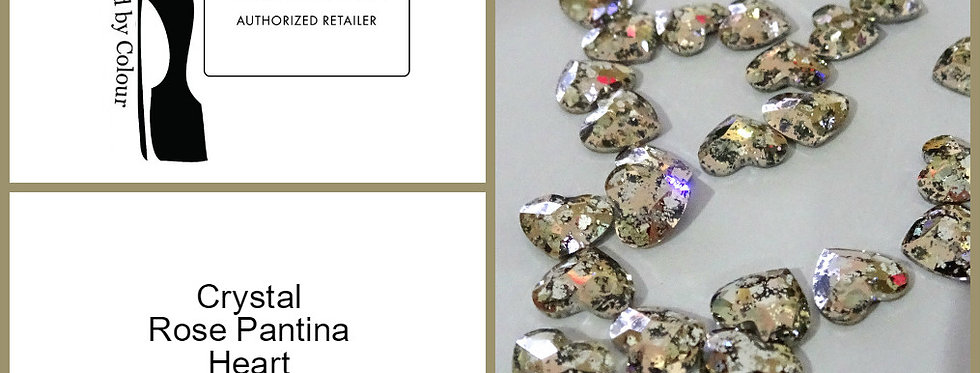 Heart - Rose Gold Pantina - Specialty Shape