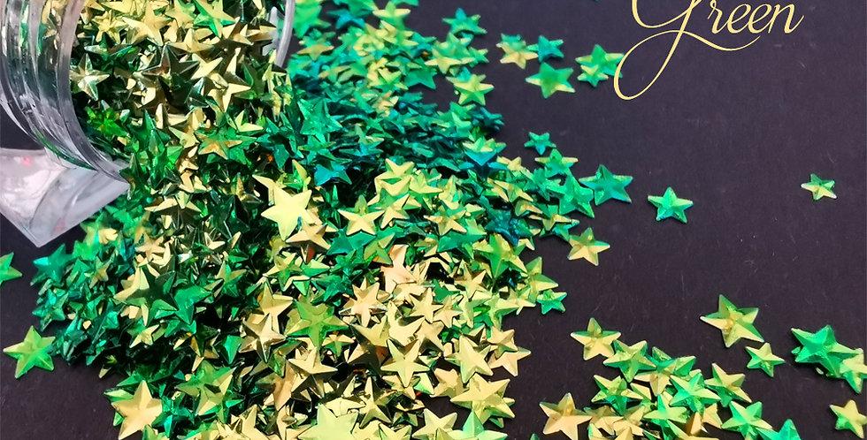 Stars - Chameleon Green
