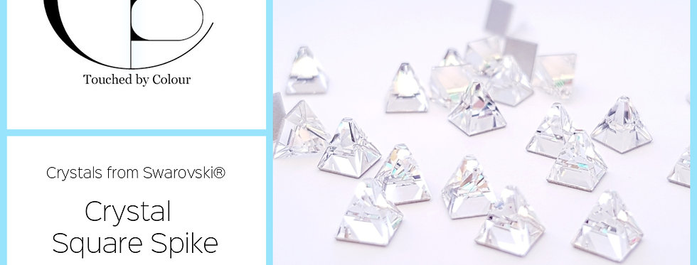 Spike Square - Crystal - Specialty Shape