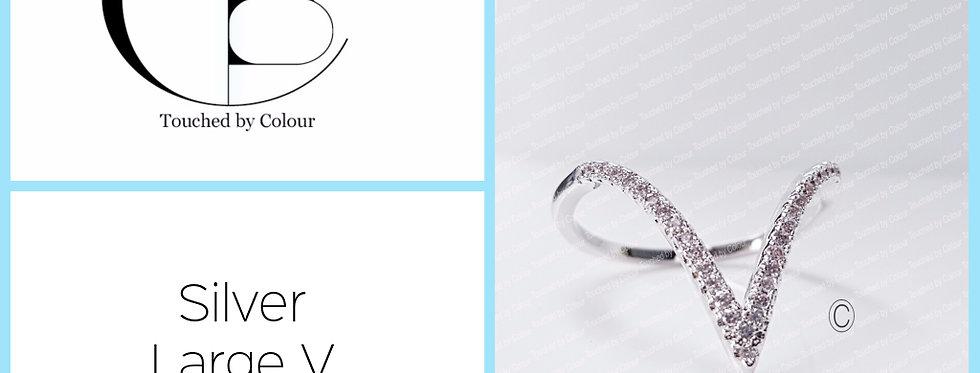 Large V Ring