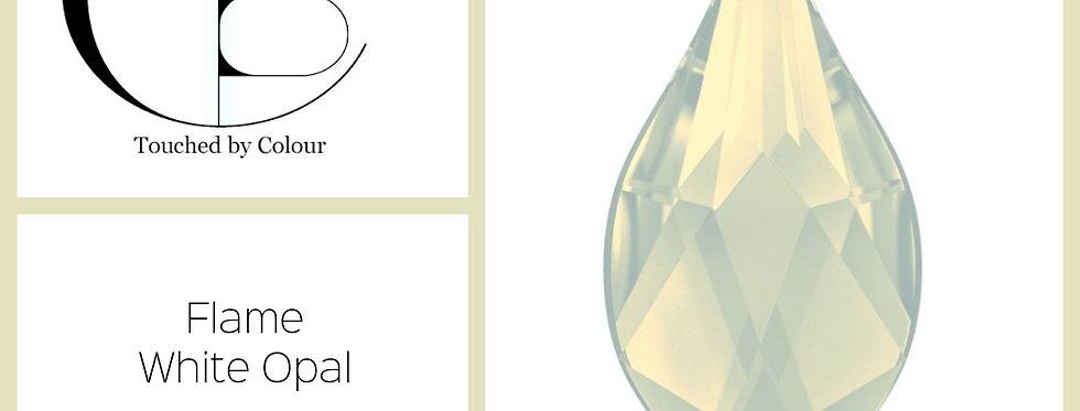 Flame - White Opal - Speciatly Shape