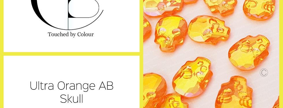 Skull -Ultra Orange AB - Specialty Shape