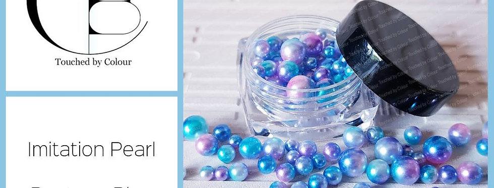 Pantone Blue - Imitation Pearl