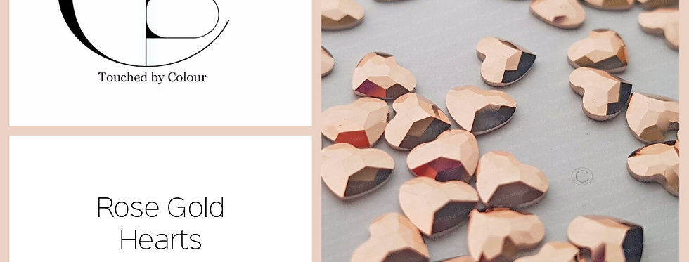 Heart - Rose Gold- Specialty Shape