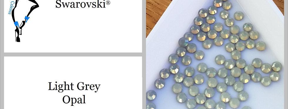 Light Grey Opal - Flat Back