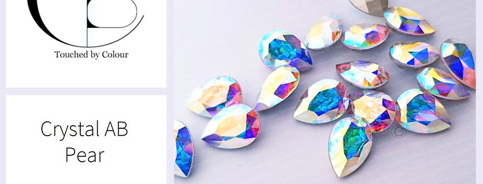 Pear Crystal AB - Fancy Shape