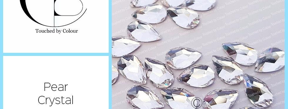 Pear - Crystal - Specialty Shape