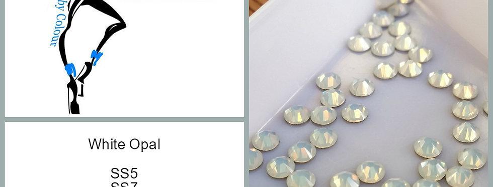 White Opal - Flat Back