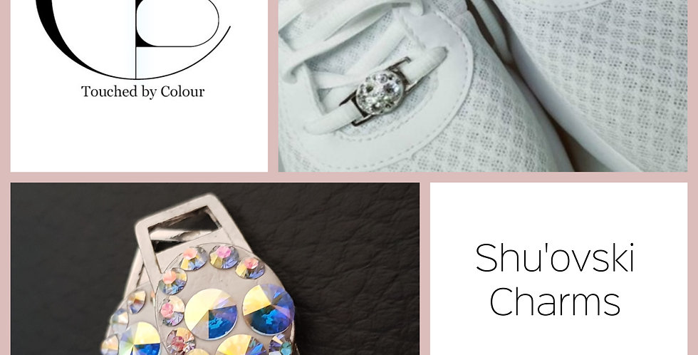 Shu'ovski Charms - Crystal AB Rivoli Triple