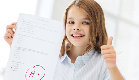 Canva - Smiling Little Student Girl with