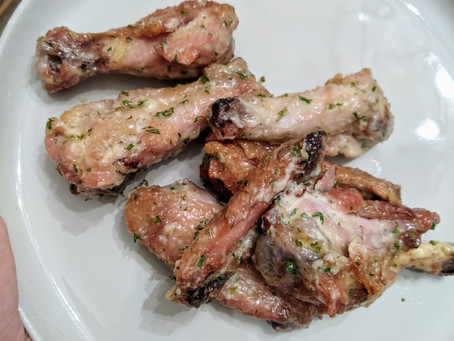 The Sunday Cookbook: Garlic Ranch Chicken Wings