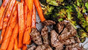 The Sunday Cookbook: One Pan Balsamic Steak and Veggies