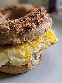 The Greater Knead Bagel - onion gluten-free bagel